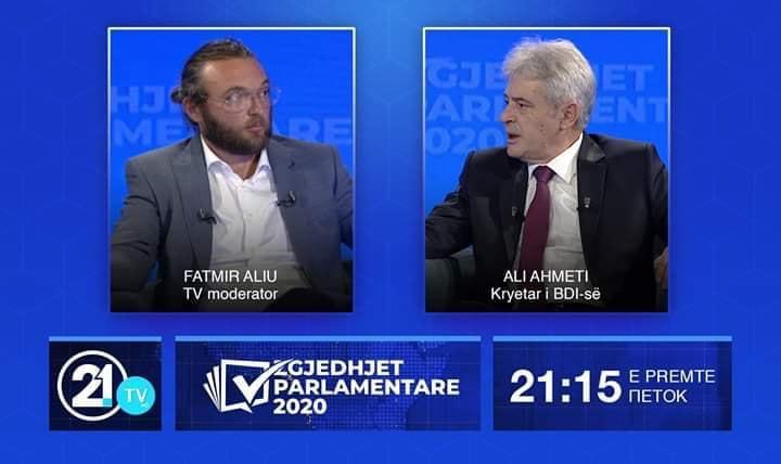 Ali Ahmeti : Ideja e kryeministrit është që në 2009-tën