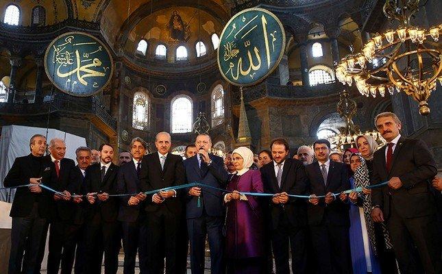 Erdogan: 350 mijë njerëz morën pjesë në namazin e xhumasë në hapjen e Xhamisë së Madhe Ajasofja (VIDEO)