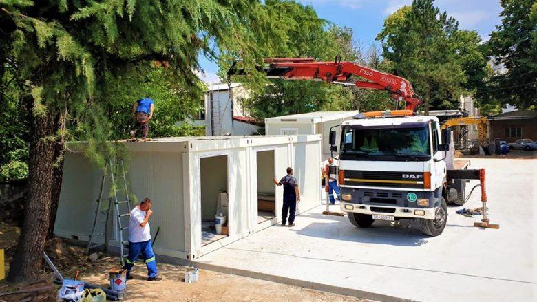 Filipçe: Ka filluar ndërtimi i ambulancës së montuar-modeluar tek Klinika për pulmonologji