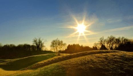 Moti me diell dhe vranësira mesatare, temperatura deri më 36 gradë