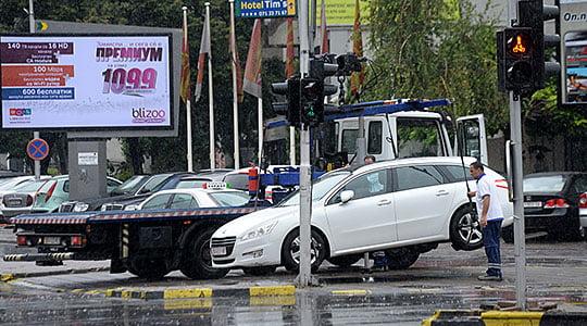158 automjete të parkuara në mënyrë jo të rregullt në Qendër