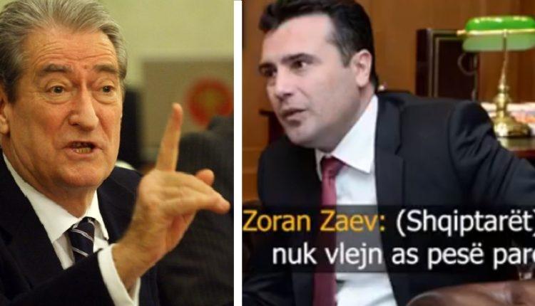 Zaev i ofendoi shqiptarët, reagon Sali Berisha: O argat i Beogradit (VIDEO)