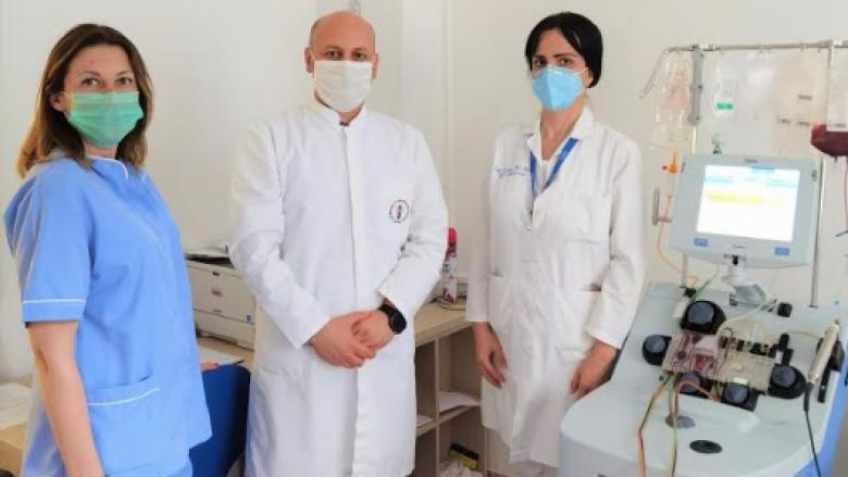 Pacienti nga Maqedonia dhuron qeliza burimore hematopoietike për një pacient nga Bullgaria