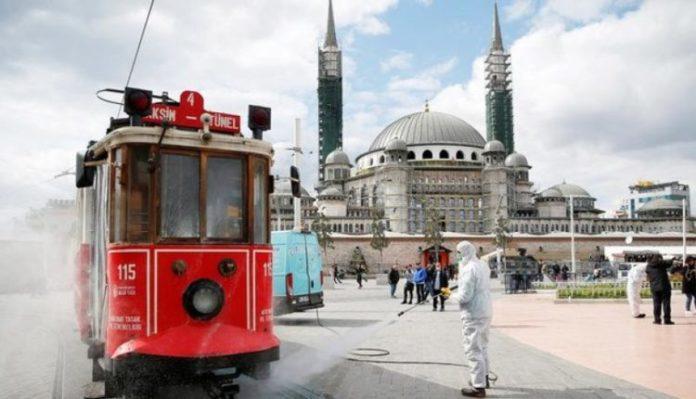 Turqia me rreth 200 mijë të prekur nga Covid-19