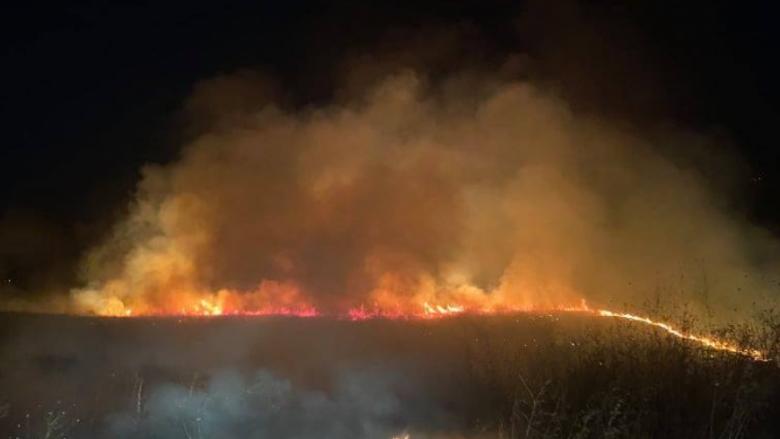 Zjarri në Edrenikovë vihet nën kontroll