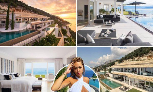 Brenda resortit luksoz në Greqi ku po qëndron Rita Ora, 18.7 mijë euro nata (FOTO)
