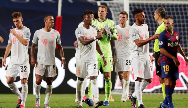 Renditja e UEFA-s për klube, kryeson Bayerni, Interi parakalon Juventusin