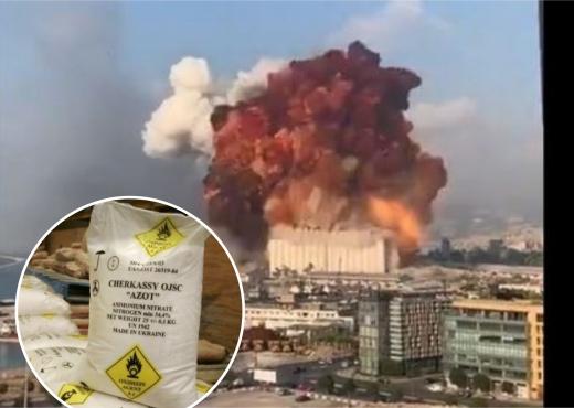Historia e çuditshme e kimikateve që sollën shpërthimin në Beirut (VIDEO)