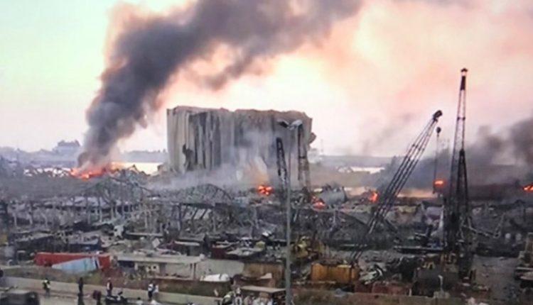 Pamje të rënda: Skenë lufte, shpërthimi i fuqishëm në Bejrut u dëgjua deri në Qipro (FOTO/VIDEO)