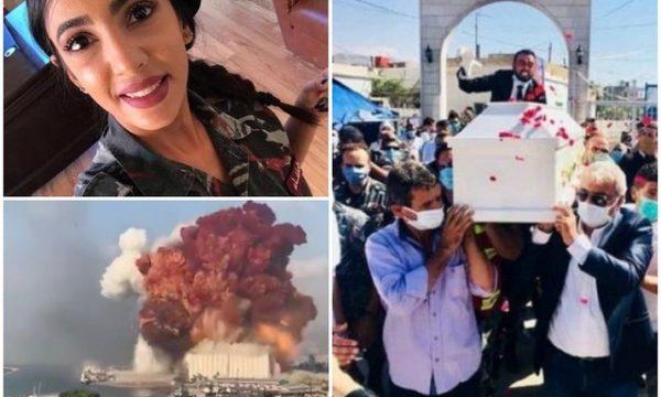 Funeral në vend të dasmës, vdekja e infermieres në Bejrut përlot botën