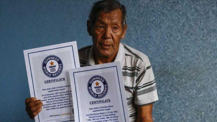 Alpinisti legjendar nepalez ndërron jetë në moshën 72-vjeçare