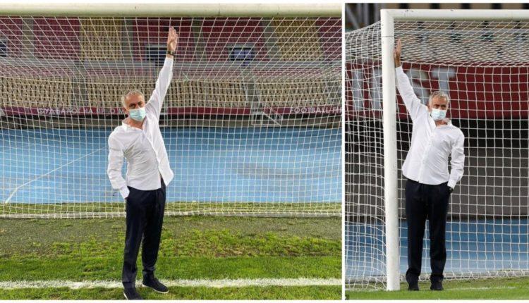 Ndeshja kundër Shkëndijës, pse kërkoi Mourinho që të ndërroheshin portat