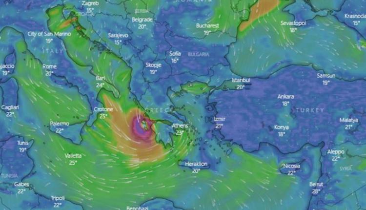 """""""Orët e ardhshme, shumë kritike"""": Cikloni mesdhetar godet brigjet e Greqisë"""