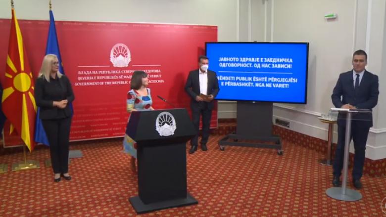 Carovska dhe Zaev ndoqën mësim online në informatikë, shfaqën se si do të duket mësimi nga shtëpia