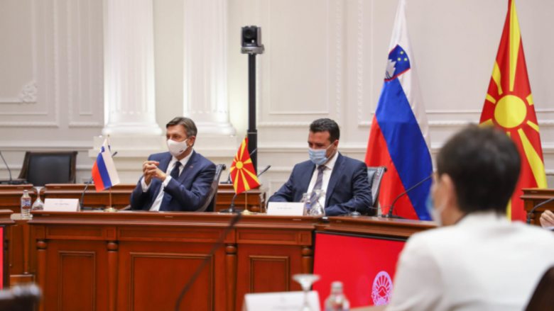 Zaev-Pahor: Sllovenia vazhdon ta mbështet plotësisht Maqedoninë e Veriut