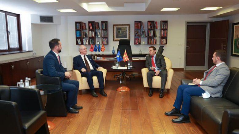Bujar Osmani: Hapja e Konsullatës së Kosovës në Strugë kontribuon te marrëdhëniet mes dy vendeve