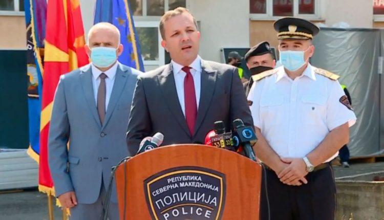 Ministri i brendshëm, Spasovski del pozitiv me Kovid-19