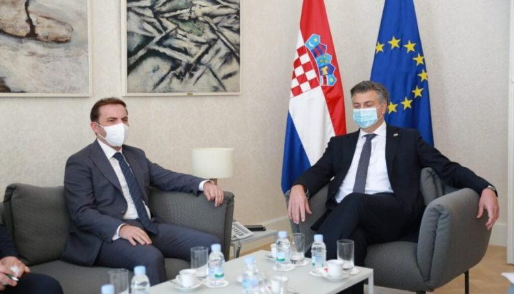 PLENKOVIQ- OSMANI: Vazhdon mbështetja e Kroacisë për procesin eurointegrues