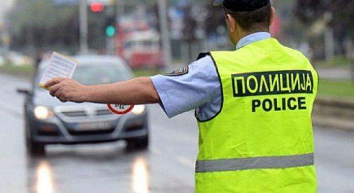 Gjobiten 411 vozitës në Shkup, prej tyre 83 për tejkalim të shpejtësisë