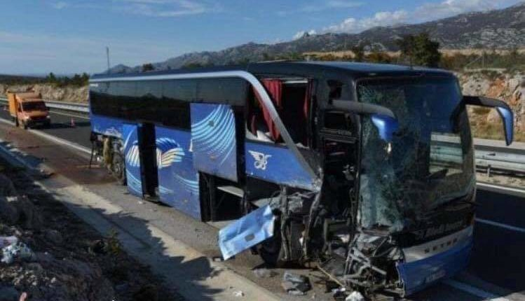 Aksidentohet autobusi me shqiptarë në Kroaci