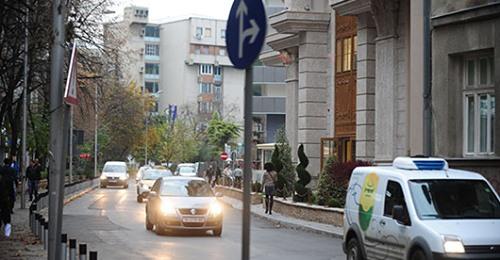 Ndërprerje e përkohshme e trafikut në Shkup