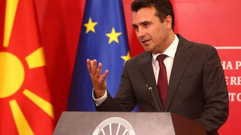 Zaev: Derisa ekzistojnë maqedonas, do të ketë edhe gjuhë maqedonase
