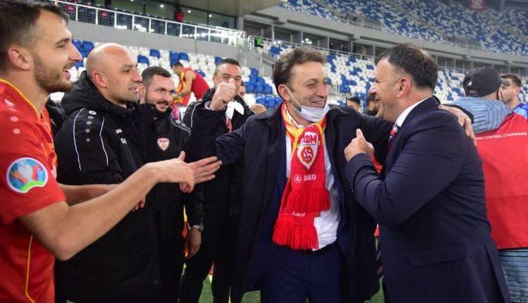 Presidenti i FFM-së, Sejdini: Jemi të gëzuar, nga zemra i uroj futbollistët për suksesin historik