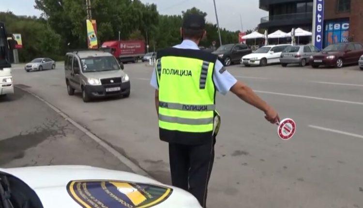 Shkup, sanksionohen 388 vozitës