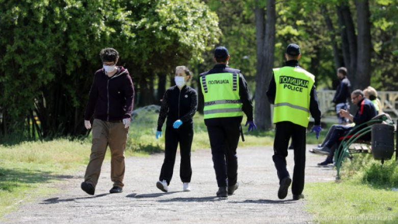 MPB Maqedoni: 639 gjoba për mosmbajtje të maskës