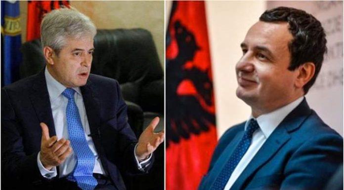 Ali Ahmeti apo Albin Kurti, shpërthen debati në Prishtinë?!