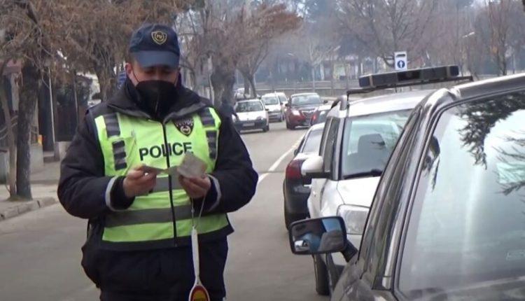 Shkup, qindra të dënuar për mosrespektim të rregullave në trafik