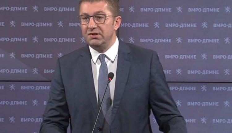 Mickoski: Me Bullgarinë po diskutohet shitja e identitetit maqedonas