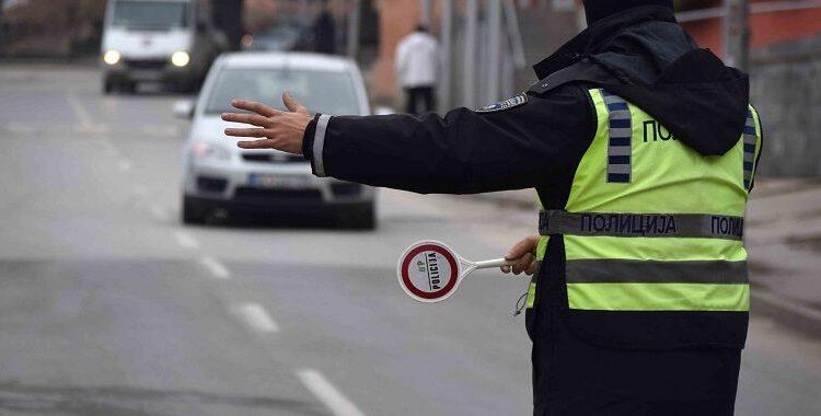 Qindra shoferë të dënuar në Shkup brenda 24 orëve