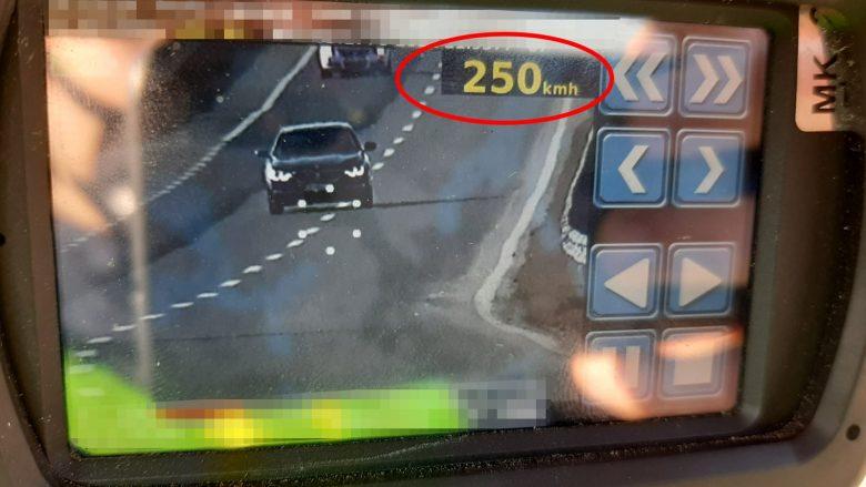 Maqedoni: Gjobiten 872 shoferë për tejkalim të shpejtësisë