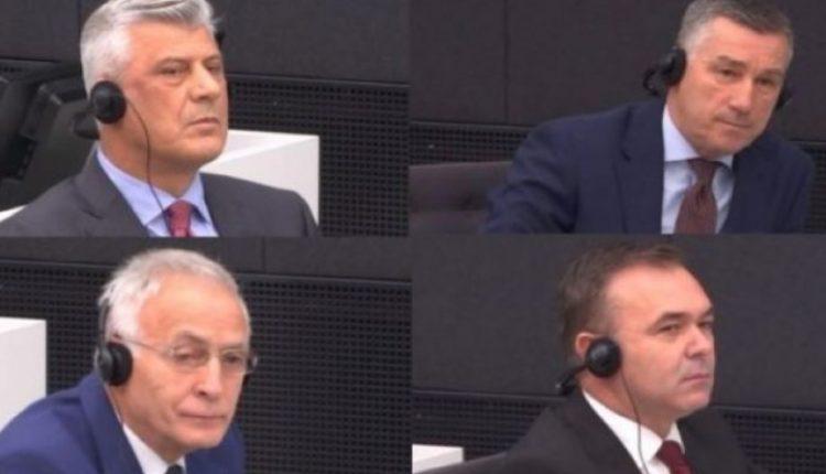 Nesër Thaçi, Veseli, Selimi dhe Krasniqi dalin në seancën e tretë para Speciales