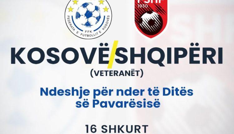 Nesër do zhvillohet ndeshja e veteranëve, Kosovë – Shqipëri për nder të Pavarësisë