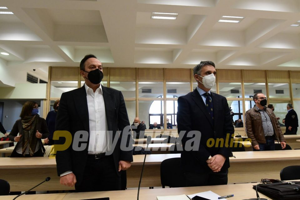 Dënime të larta për përgjimet: 12 vjet burg për Mijallkovin, nga 15 për Goran Grujevskin dhe Nikolla Boshkovskin