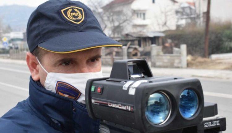 149 gjoba për një ditë në Shkup, 47 për tejkalim të shpejtësisë