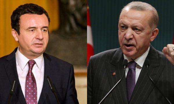 Kurti i përgjigjet me letër Erdoganit, nuk i thotë asgjë për ambasadën në Jerusalem
