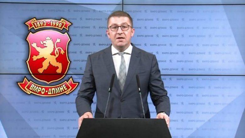 Mickoski: Kjo Qeveri është e paaftë të organizojë regjistrim të popullsisë