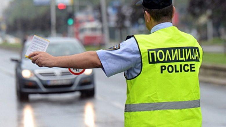 Gjobiten shoferë në Shkup
