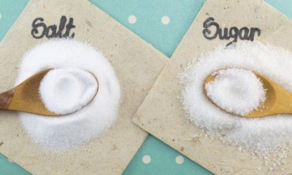 Më i dëmshëm sheqeri apo kripa?