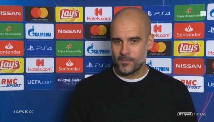 Guardiola tregon çfarë u tha lojtarëve në dhomat e zhveshjes
