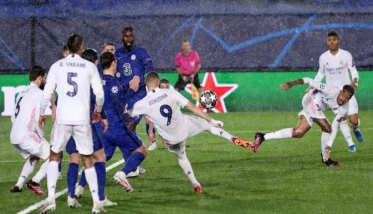 Benzema me golin kundër Chelseat hyn në histori të Ligës së Kampionëve