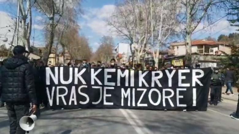 """Filloi protesta në Shkup: """"Nuk kemi kryer vrasje mizore"""""""