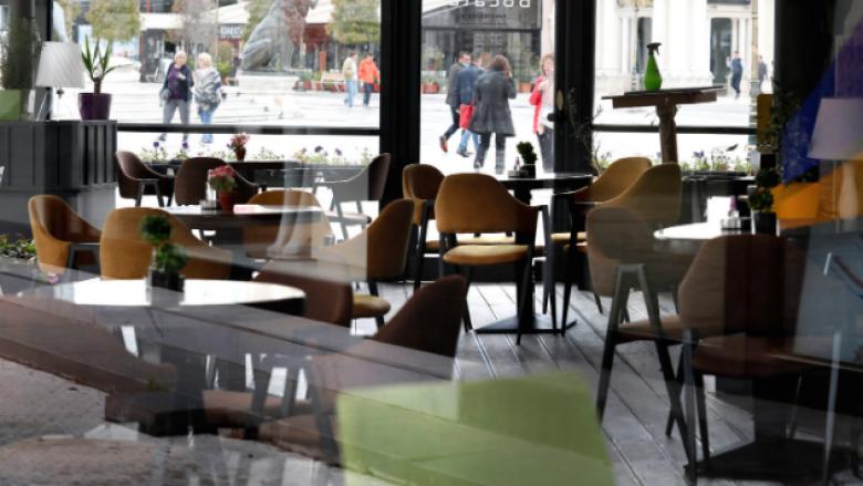 Hoteleritë në Maqedoni: Mbyllja e kafeneve lë pa punë 30 mijë persona, kërkojmë ndihmë urgjente shtetërore