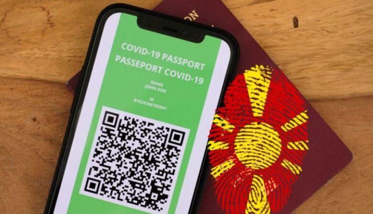 Maqedoni, paralajmërohen pasaporta për vaksinim kundër Covid-19