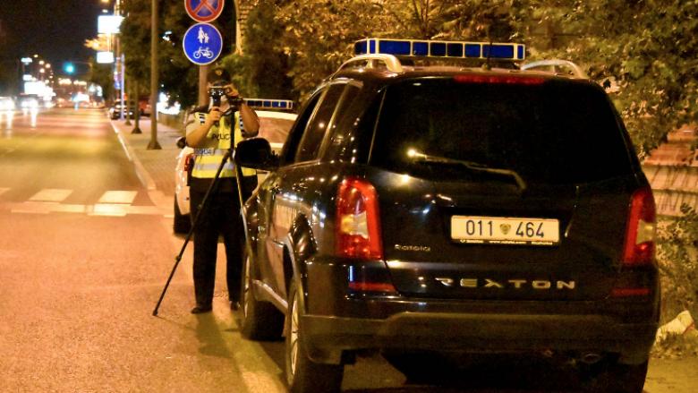 Gjobiten 217 shoferë në Shkup