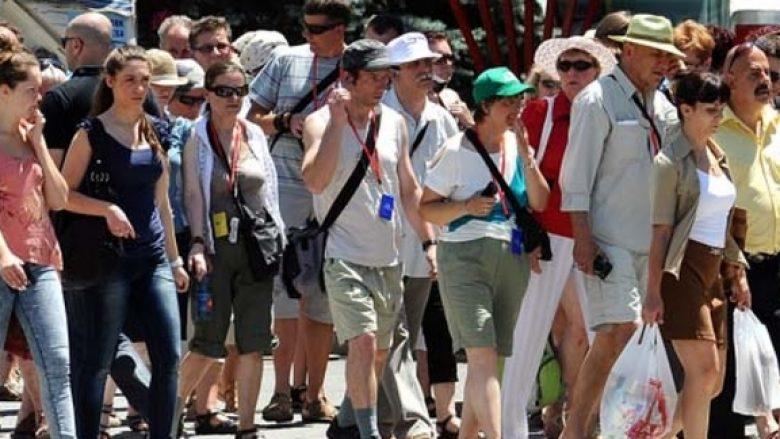 Ulet ndjeshëm numri i turistëve në Maqedoni