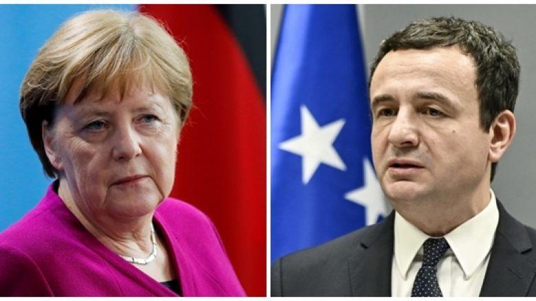 Kancelarja Merkel sot bisedon me kryeministrin Kurti